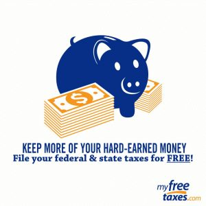 Keep more of your hard-earned money. File your federal & state taxes for FREE! myfreetaxes.com